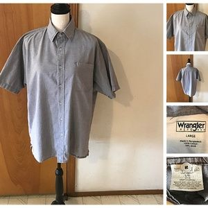 Cotton Short Sleeve Button Front Shirt Tiny Hounds